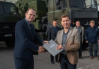 R-414MBRP Radio Relay Station Enters the Signal Troops of the Belarusian Armed Forces